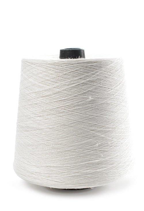 Dabiski balta lina dzija, 500g