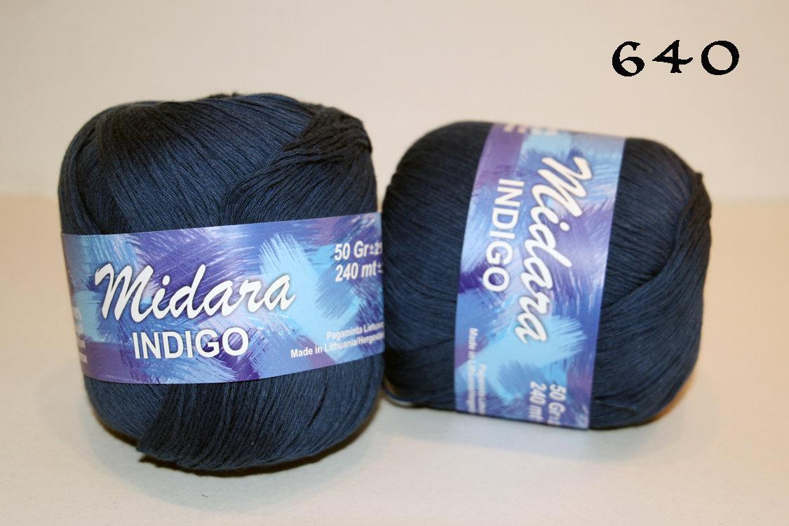 "Kokvilna, ""Indigo"", 50 g"