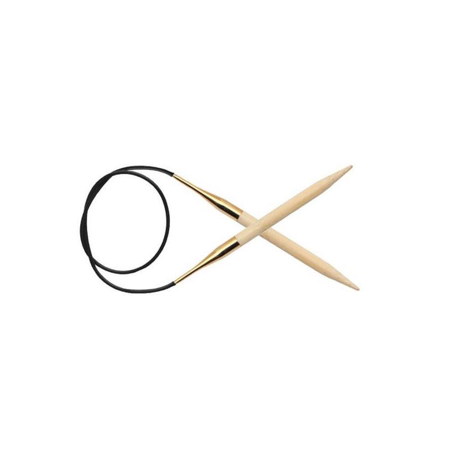 KnitPro bambusa apaļās adatas, 100 cm
