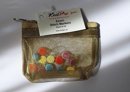 KnitPro adījuma marķieri, 12 gab.