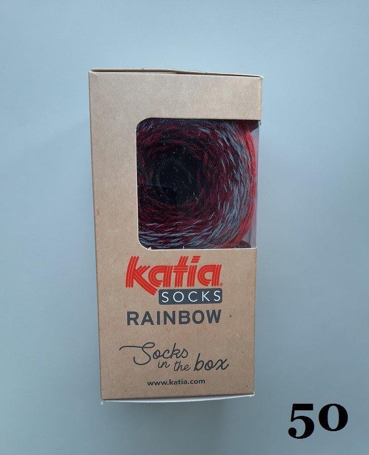 Zeķu dzija Rainbow Socks