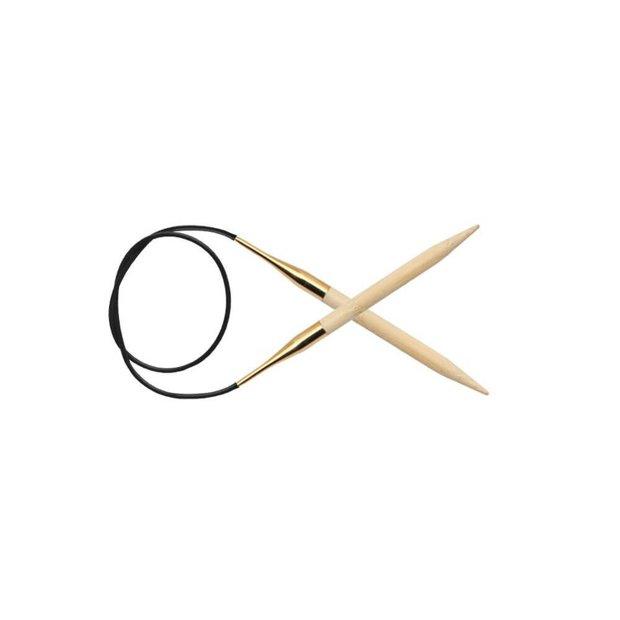 KnitPro bambusa apļa adatas, 100 cm