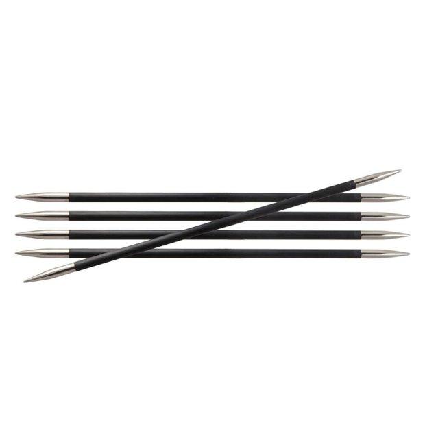 KnitPro karbona zeķu adāmās adatas, 20 cm
