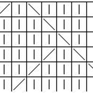Tehniskais zīmējums Nr.1. Pāra skaita rindas adāmas labiski