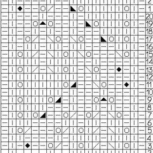 Tehniskais zīmējums rakstam Nr.7