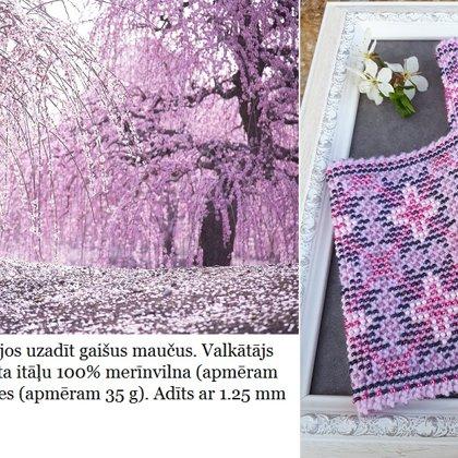 5. Evijas pavasara krāsas mauči