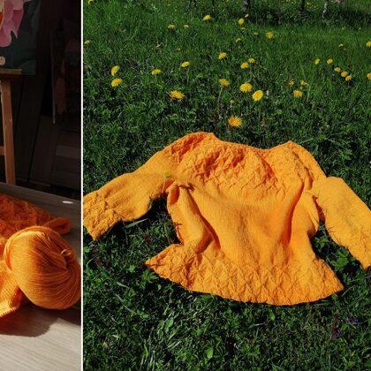 11. Ilvas Negarlaicīgais džemperis