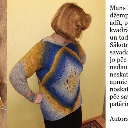 4. Ināras džemperis