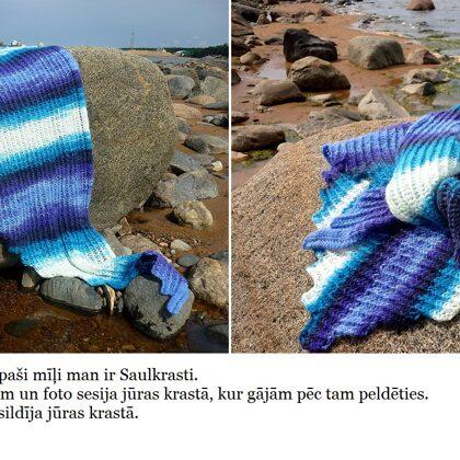 1. Ingas jūras lakats