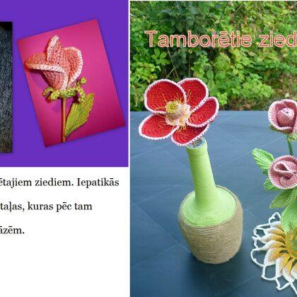8. Ingas K. tamborētie ziedi