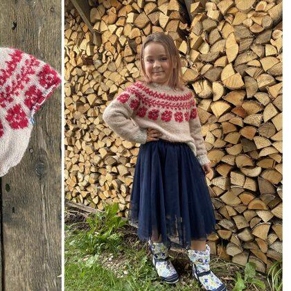 5. Lienes džemperis rudens krāsās