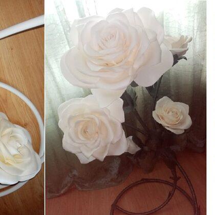 11. Vijas baltās rozes