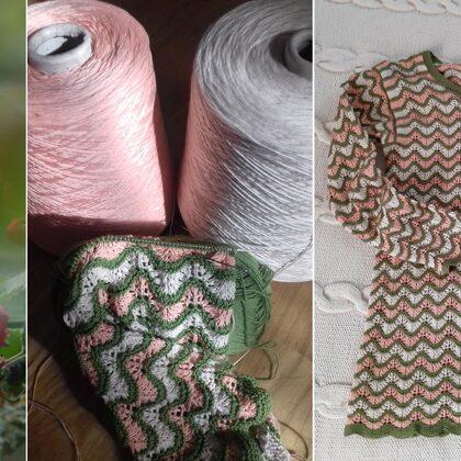 15. Daces P. ābeļziedu džemperis